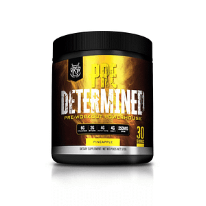 Pre Determined – Pre-Workout Powerhouse
