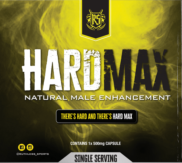 Ruthless Sports hardmax Natural Male Enhancement
