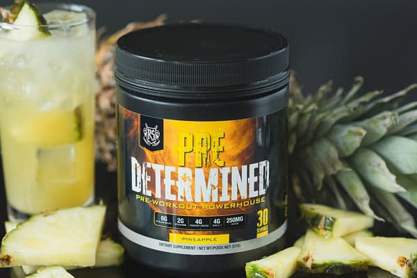 Ruthless Sports Pre Determined Pineapple Pre-workout | Top Pre-workout Canada