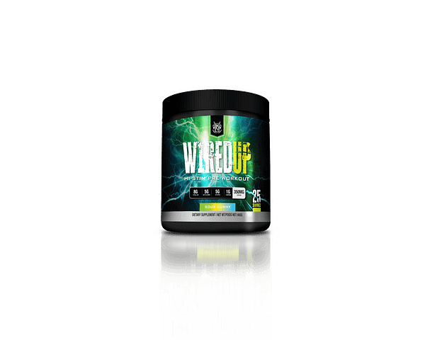 Ruthless Sports Wired Up Sour Gummy | Pre-Workout Canada