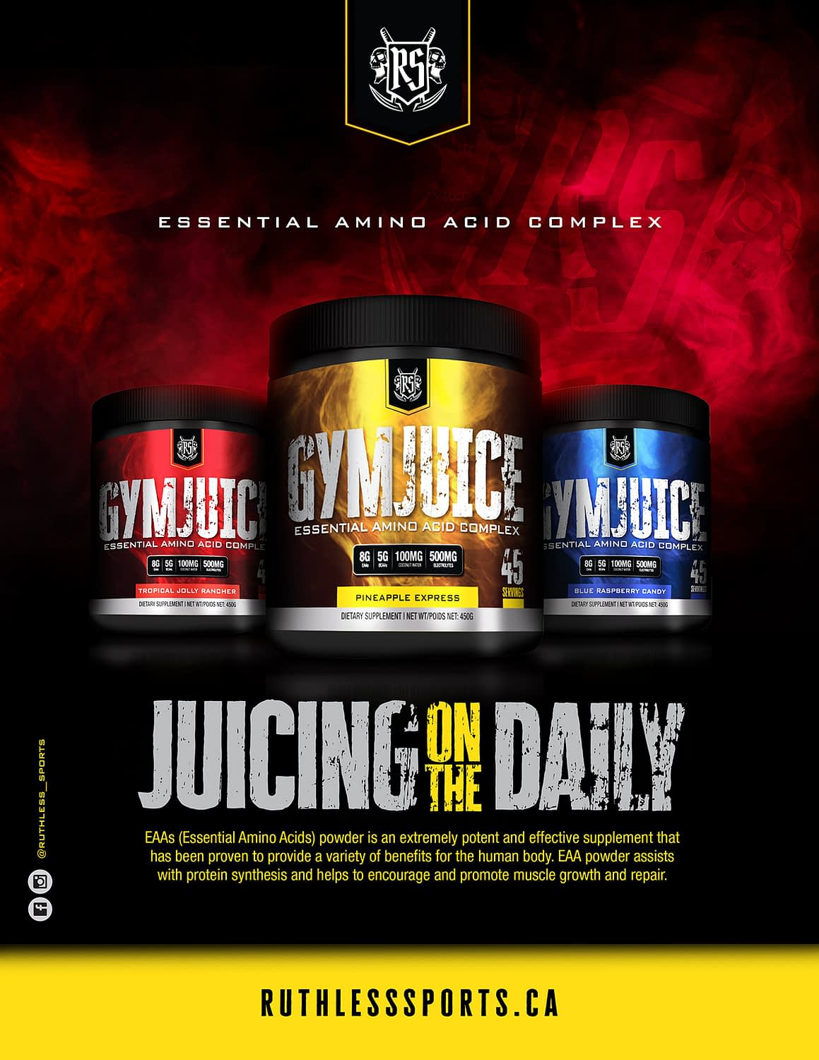 Ruthless Sports Gym Juice