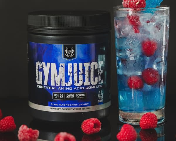 Ruthless Sports Gym Juice Blue Raspberry Candy | Supplements Canada